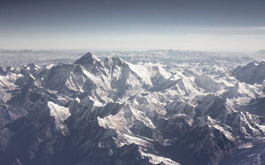 Aerial view of Himalayas - HLF000123