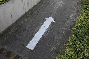 Shanghai, Arrow sign - KSW001054