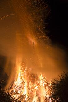 Germany, Forest fire in Heilbad Heiligenstadt - SJF000024