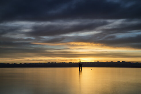 Germany, Constance, View of lighthouse at Lake Constance - ELF000019
