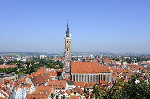 Germany, Bavaria, View of city - LH000126