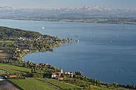 Germany, View of Lake Constance with Baroque Church of Birnau - SH000697