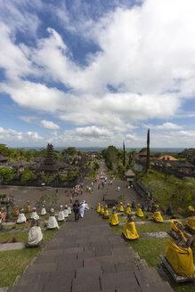 Indonesia, View of Pagodas at Pura Penataran Agung temple - AM000096