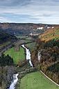 Germany, Baden Wuerttemberg, View of Upper Danube valley - ELF000107