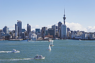 New Zealand, Auckland, View of city - GW002187