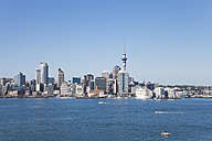 New Zealand, Auckland, View of city - GW002189