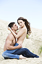 Germany, Bavaria, Young couple falling in love - MAEF006730