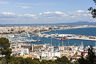 Spain, Mallorca, Palma, View from Bellver Castle - AM000275