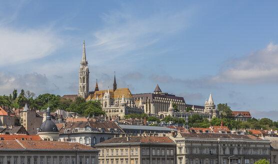 Hungary, Budapest, View of Matthias Church - MAB000064