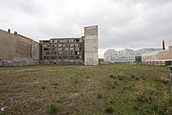 Germany, Berlin, Broken Factory beside new building - FBF000063