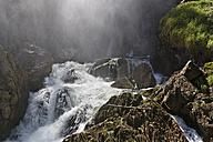 Austria, Salzburg, View of Golling waterfall - SIE003894