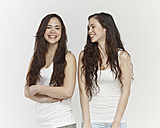 Young women laughing - RH000133
