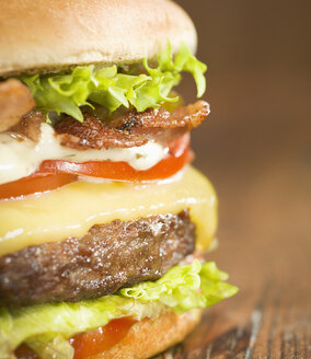 Burger, close up - CHF000047