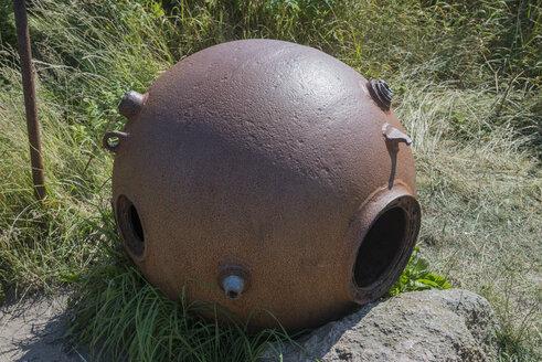 Denmark, Submarine mine at Bunker-Museum - HWO000044
