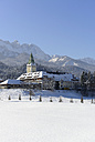 Germany, Bavaria, View of Elmau castle - LH000172