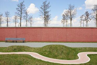 Germany, Bavaria, Munich, View of Path in Westpark - EDF000038