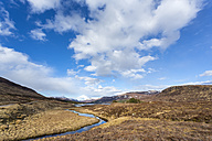 Scottish Highlands, View of lake and river - STS000001