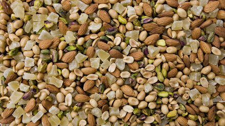 Variety of nuts, close up - CNF000011