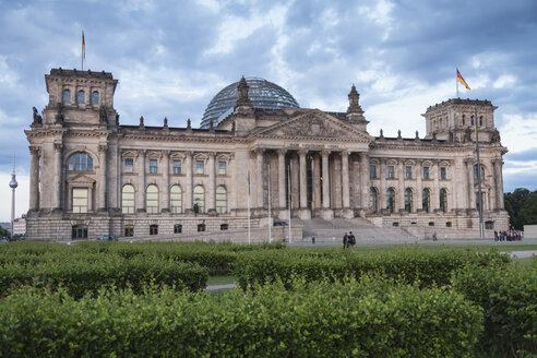 Germany, Berlin, View of  German parliment building - HA000139