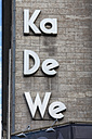 Germany, Berlin, View of Ka De We Department store - HA000143