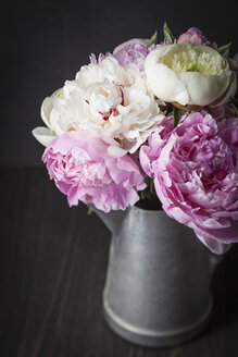 Bouquet of peonies flowers, close up - ECF000233