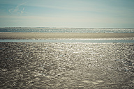 Denmark, Romo, Low tide at North Sea - MJF000249
