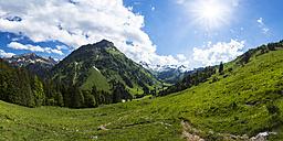 Germany, Bavaria, View of Allgaeu High Alps - STSF000035