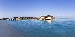 Asia, Water bungalows of Paradise Island - AM000594