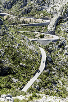Spain, Mallorca, View of Winding road - STD000004