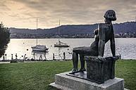 Switzerland, Zurich, View of naked women sculpture - JHE000023