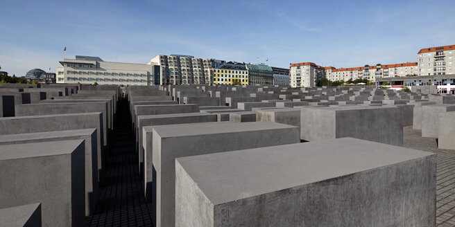 Germany, Berlin, View of Holocaust memorial - JHE000006