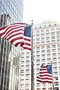 USA, New York, View of American flag - SKF001421