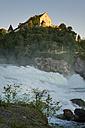 Switzerland, Schaffhausen, View of waterfall near Laufen castle - SH000840