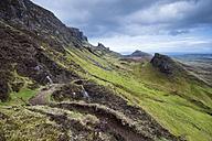 United Kingdom, Scotland, View of hiking trail - ELF000232