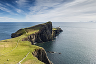 United Kingdom, Scotland, View of lighthouse in Neist Point - ELF000240