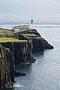 United Kingdom, Scotland, View of lighthouse in Neist Point - ELF000238