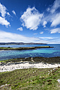 United Kingdom, Scotland, View of Coral beach near Dunvegan - ELF000251
