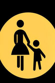 Pictogram for mother and child - SKF001469