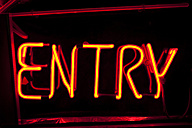 Neon sign entry - SKF001480