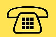 Iconic telephone sign - SKF001460