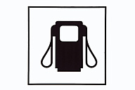Iconic gas station sign - SKF001484