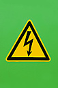 High voltage warning sign - SKF001492