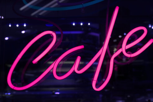Neon sign cafe - SKF001495