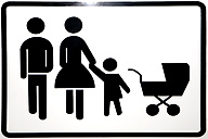 Pictogram for father, mother and child - SKF001500