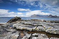 United Kingdom, Scotland, Isle of Skye,   View of Cuillin hills - ELF000282