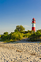Germany, Schleswig Holstein, View of lighthouse at beach - MJF000278