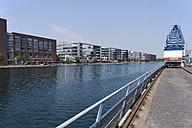 Germany, Norh Rhine Westphalia, Duisburg, View of Pier Eins at Inland Port - CS019728