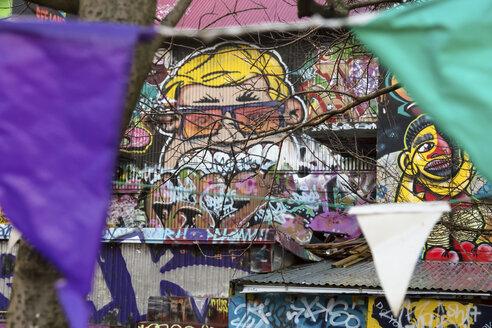 Iceland, Reykjavik, Graffiti - STD000018
