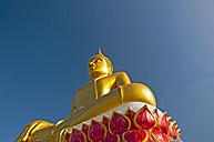 Thailand, Nong Khai, Statue of Gautama Buddha - WGF000001