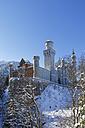Germany, Bavaria, View of Neuschwanstein Castle - SIE004131